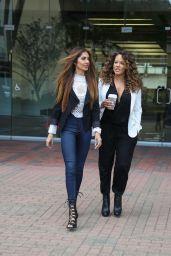 Dr. Tabasum Mir & Leila Arcieri - Strolling on Santa Monica Promenade, December 2015