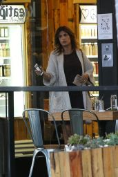 Elisabetta Canalis - at Kreation Restaurant in Beverly Hills, December 2015