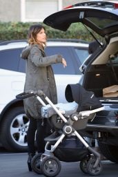 Elisabetta Canalis - Shopping at Fred Segal in Los Angeles, December 2015