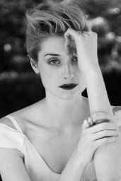 Elizabeth Debicki - B&W Photo Shoot for The Last 2015