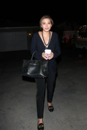 Elizabeth Olsen - Leaving a Party in West Hollywood, December 2015