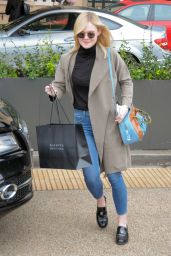 Elle Fanning Casual Style - at Barney