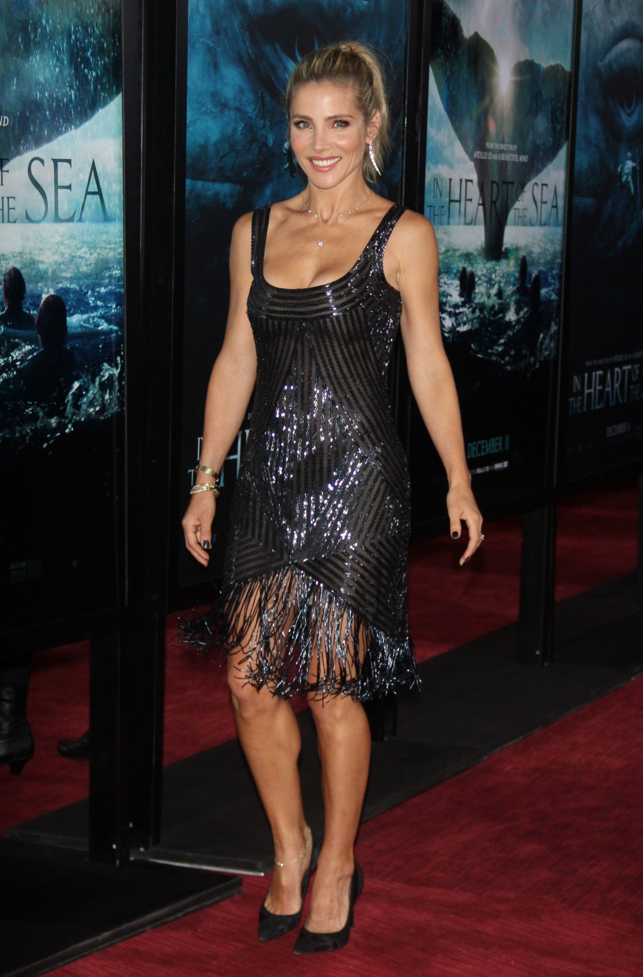 Elsa Pataky In The Heart Of The Sea Premiere At The