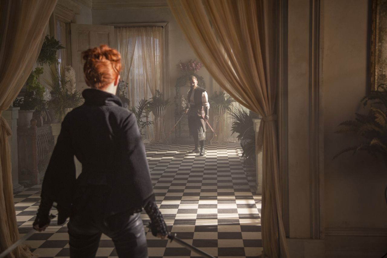 Emily Beecham Into The Badlands Season 1 Prom And Stills