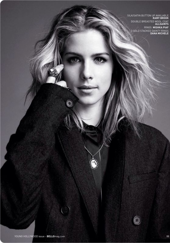 Emily Bett Rickards - Bello Magazine December 2015 Issue