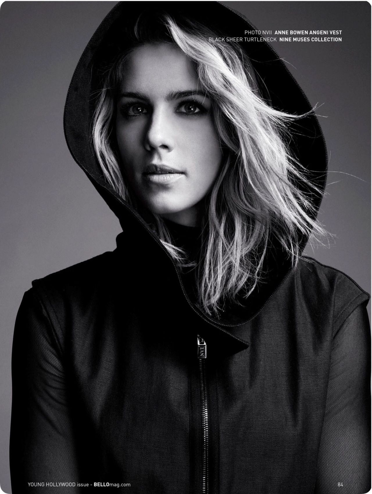 Emily Bett Rickards Bello Magazine December 2015 Issue