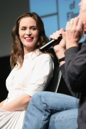 Emily Blunt - Sicario Screening & Panel Discussion in New York City, 12/15/2015