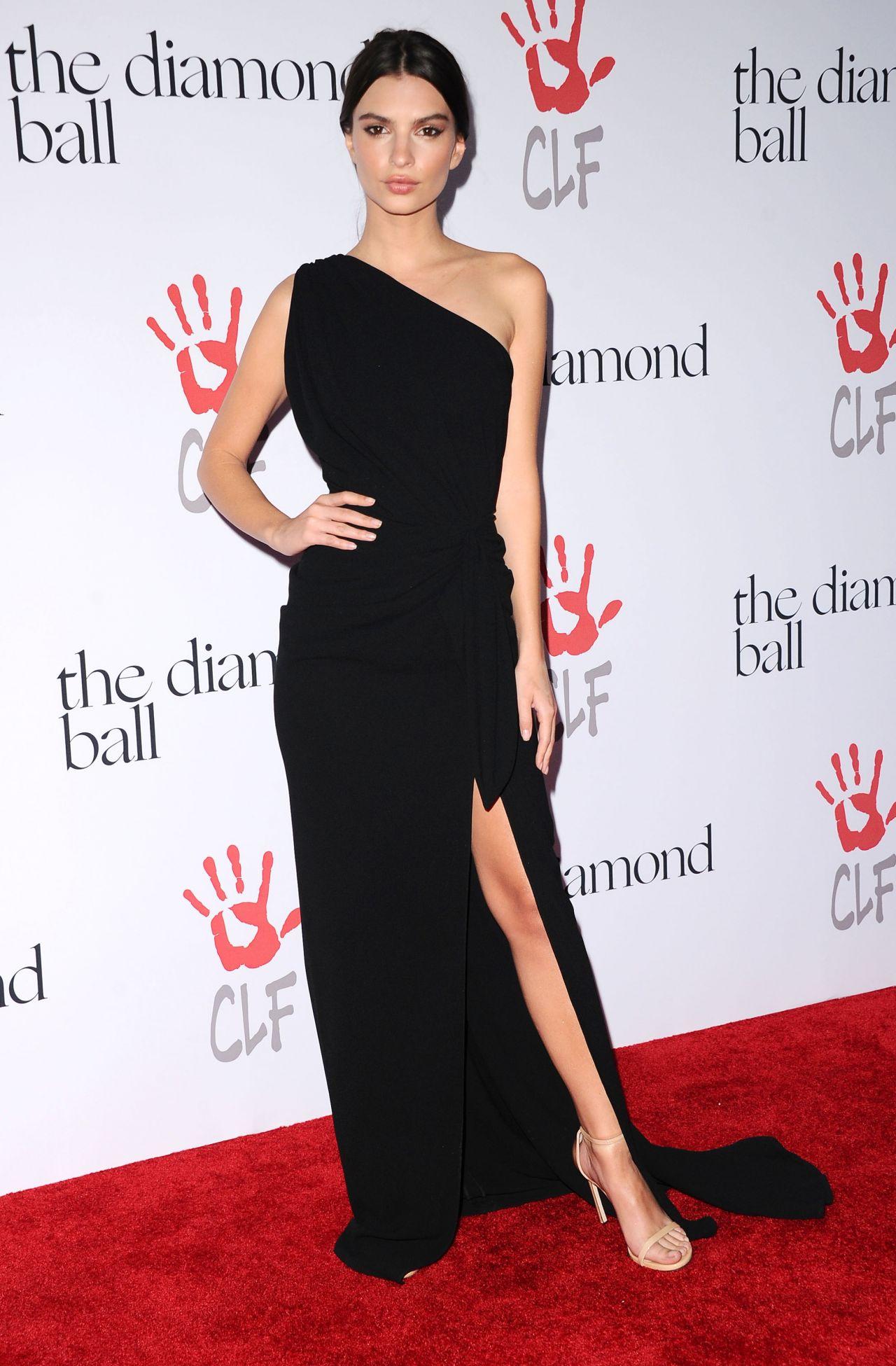 Emily Ratajkowski – 2015 Diamond Ball in Santa Monica, 12/10/2015