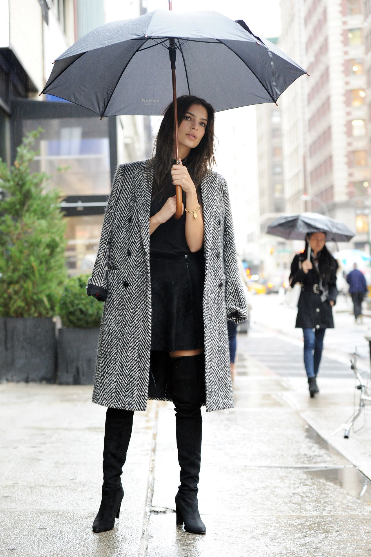 Emily Ratajkowski Photoshoot New York November 2015