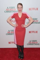 Emma Myles – Netflix Original Holiday Special 'A Very Murray Christmas' Screening in NYC