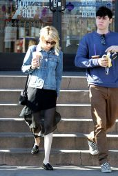 Emma Roberts - Out for Coffee in West Hollywood 12/26/2015