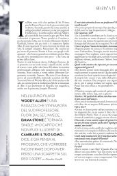 Emma Stone - Grazia Magazine Italia December 2015 Issue