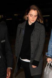 Emma Watson at LAX Airport, 12/9/2015
