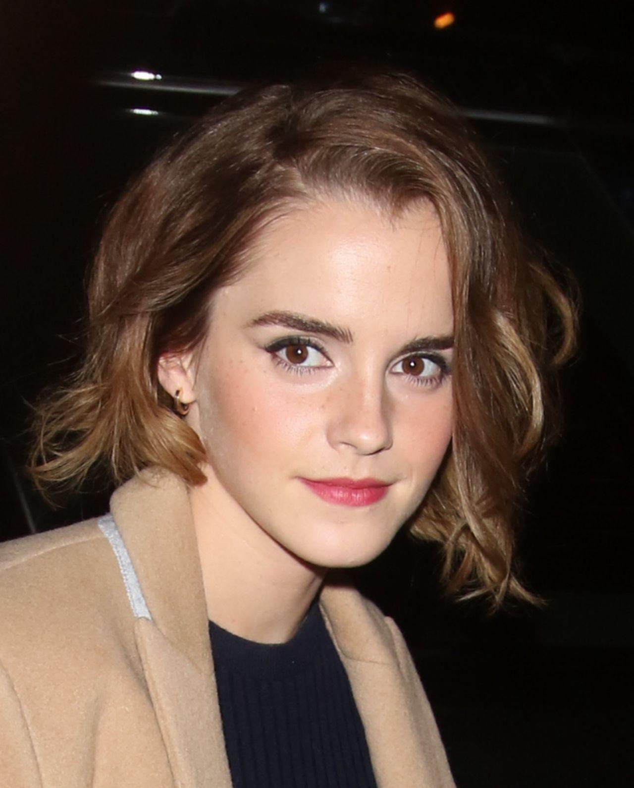 Emma Watson - 'The True Cost' Screening in London Emma Watson