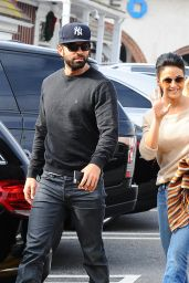 Emmanuelle Chriqui Street Style - Out in Brentwood, December 2015