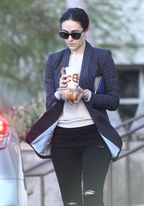 Emmy Rossum - Out for Lunch in West Hollywood 12/20/2015