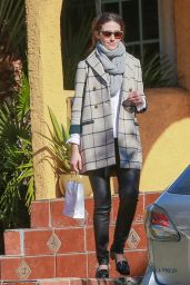 Emmy Rossum - Out in Los Angeles, 12/12/2015