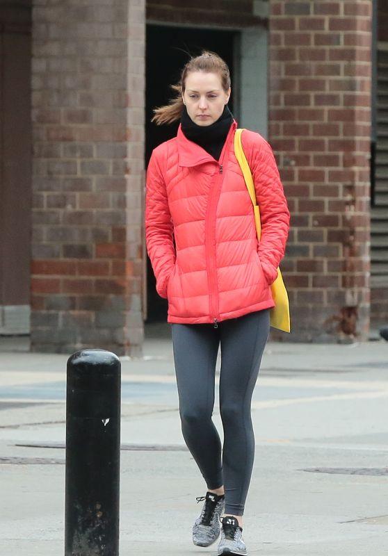 Eva Amurri Winter Style - New York City, December 2015