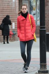 Eva Amurri Winter Style - New York City, December 2015