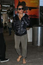 Eva Longoria - Back From Dubai at LAX Airport in LA 12/24/2015