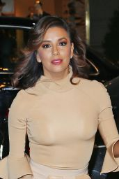 Eva Longoria Style - at Her Hotel in NYC 12/12/2015