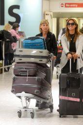 Ferne McCann at London Heathrow Airport, 12/9/2015
