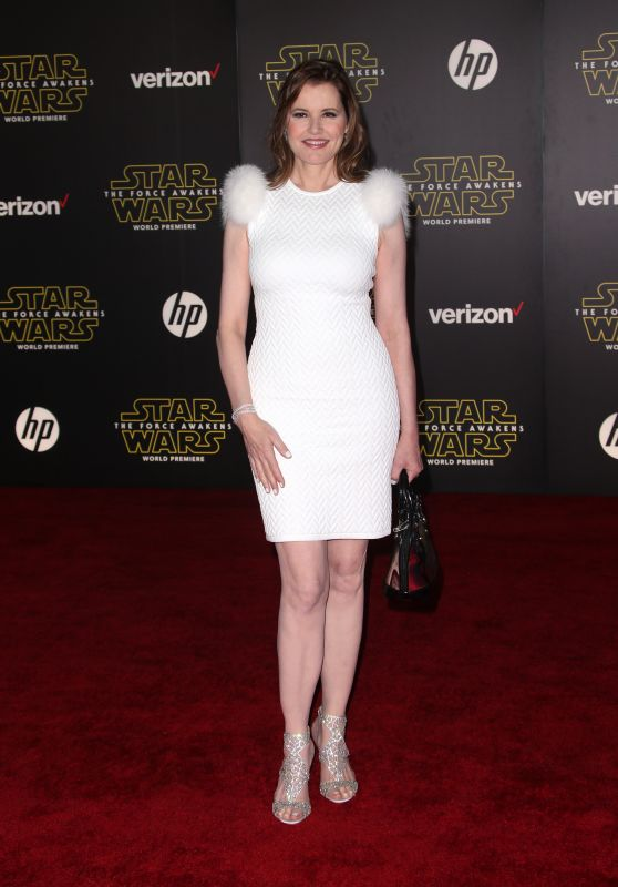 Geena Davis – Star Wars: The Force Awakens Premiere in Hollywood