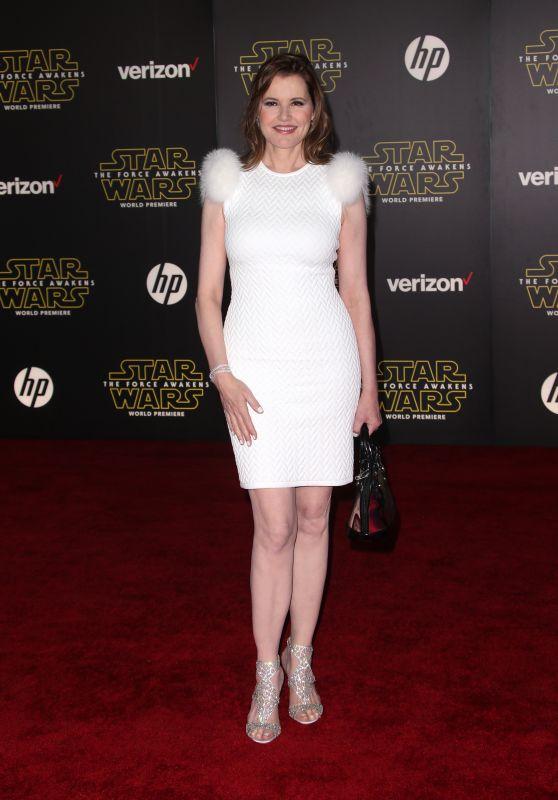 Geena Davis – Star Wars: The Force Awakens Premiere in Hollywood