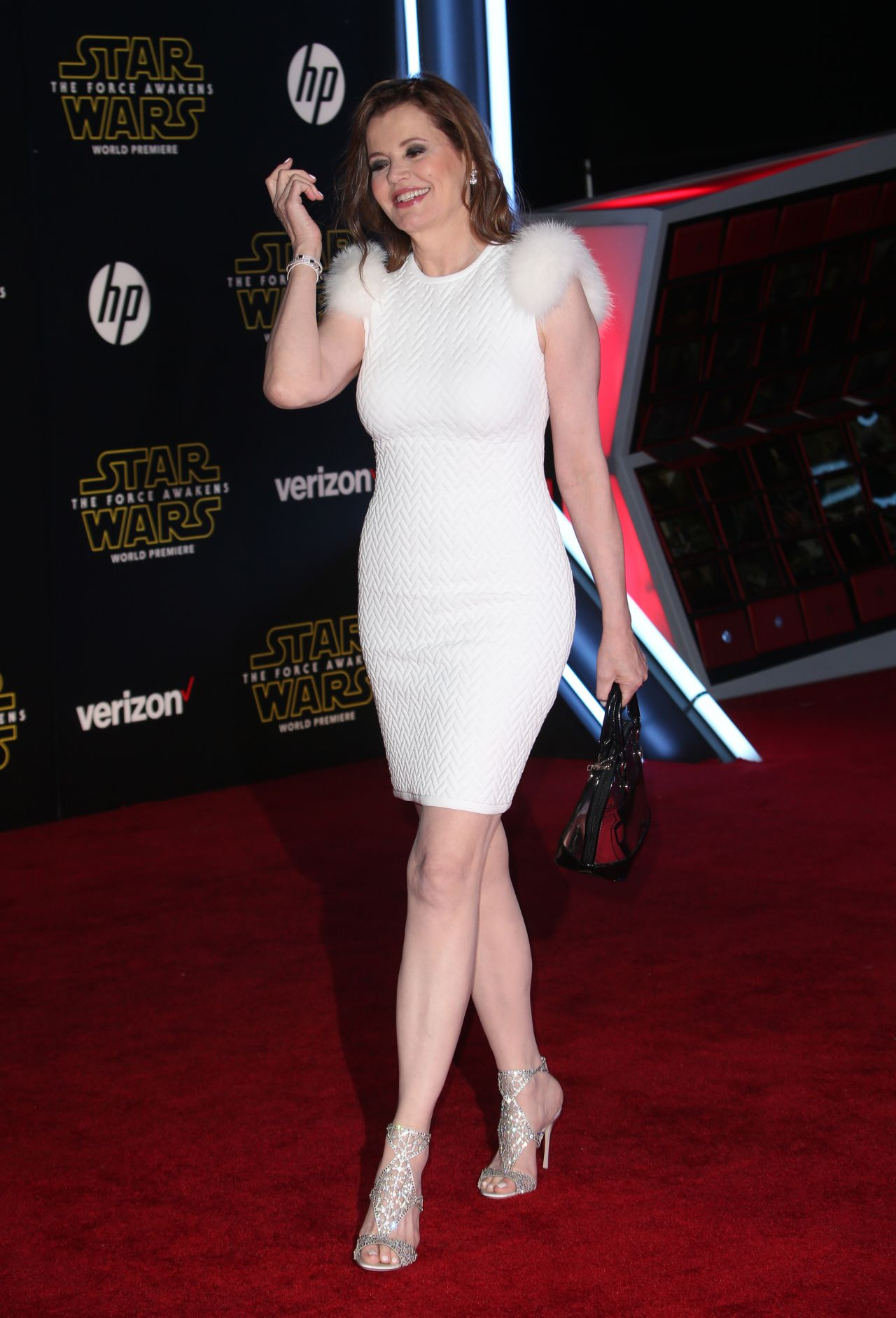 Geena Davis Star Wars The Force Awakens Premiere In