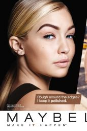Gigi Hadid - Maybelline Ad 2015