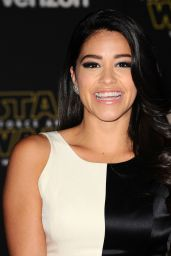 Gina Rodriguez – Star Wars: The Force Awakens Premiere in Hollywood