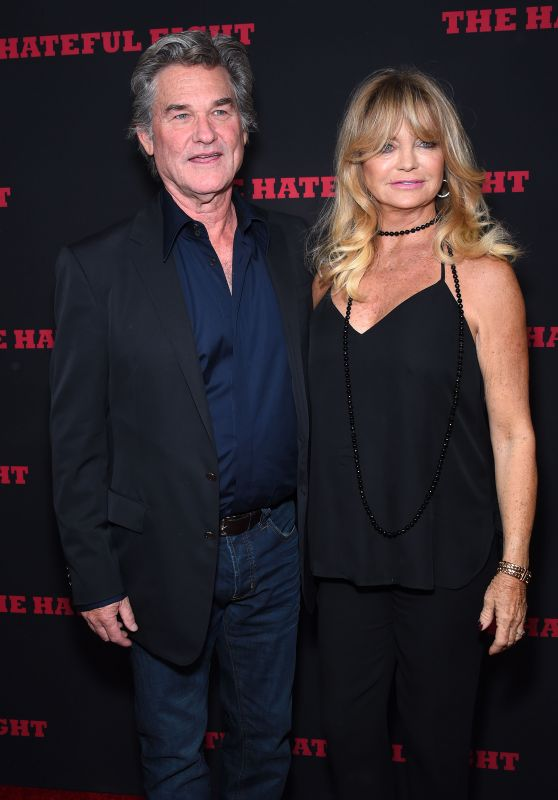 Goldie Hawn – 'The Hateful Eight' Premiere in Los Angeles