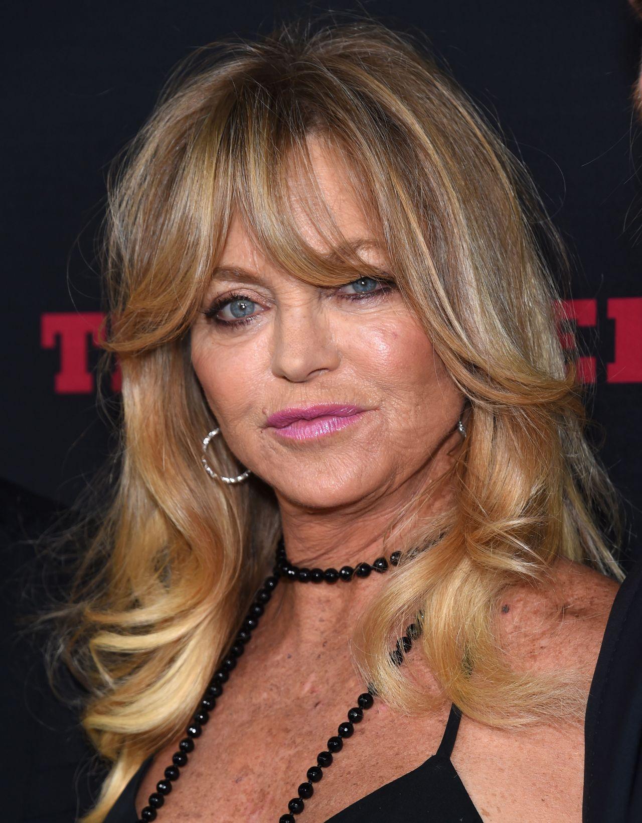 Goldie Hawn The Hateful Eight Premiere In Los Angeles