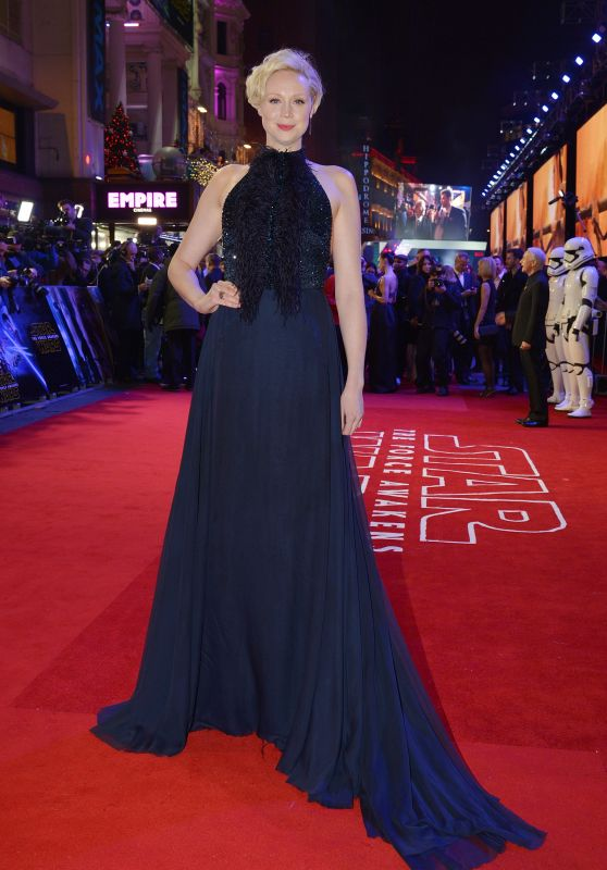 Gwendoline Christie – Star Wars: The Force Awakens Premiere at Odeon Leicester Square, London