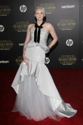 Gwendoline Christie – Star Wars: The Force Awakens Premiere in Hollywood