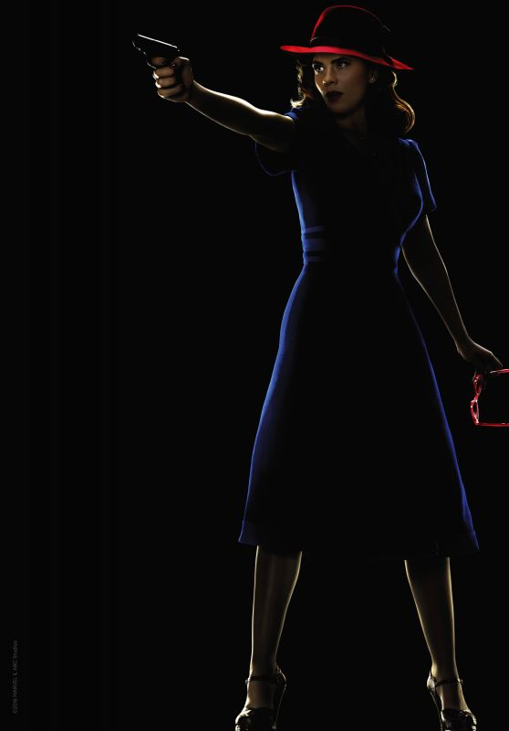 Hayley Atwell - Agent Carter Season 2 Poster and Promo Image