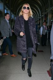 Heidi Klum at LAX Airport, 12/15/2015