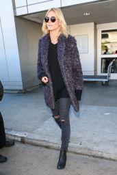 Heidi Klum at LAX Airport, 12/15/2015