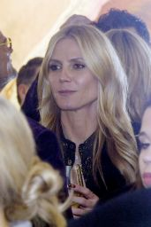 Heidi Klum Style - at a Party in St Moritz 12/28/2015