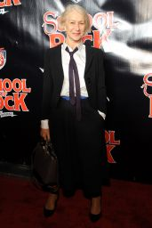 Helen Mirren – School Of Rock Broadway Opening Night in New York, December 2015