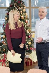 Holly Willoughby – This Morning TV Show in London, December 2015