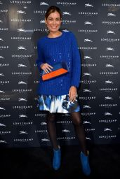 Jana Ina Zarrella - Longchamp Store Opening in Cologne, November 2015