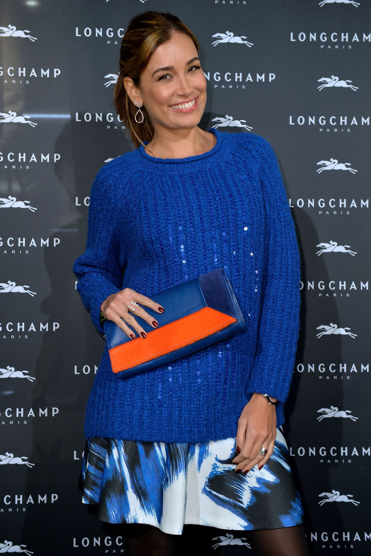Jana Ina Zarrella Longchamp Store Opening In Cologne