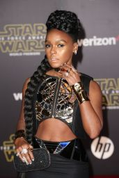 Janelle Monae – Star Wars: The Force Awakens Premiere in Hollywood