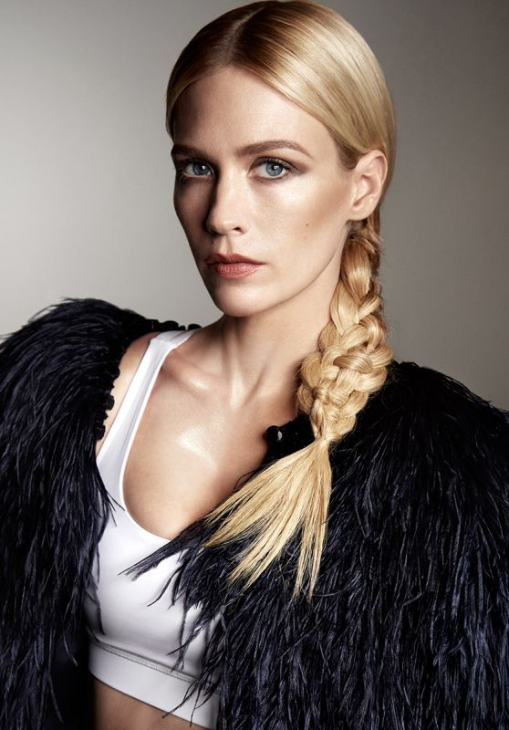 January Jones - Photo Shoot for Violet Grey Magazine March 2015