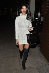 Jasmin Walia at the Bardou Hair Salon in Covert Garden, London, 12/9/2015