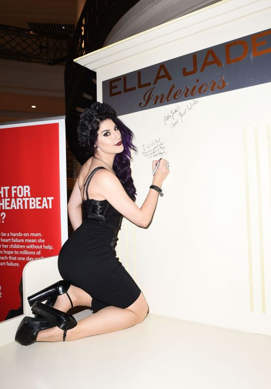 Jasz Vegas - Ella Jade Chair Your Wish Shopping Centre Launch  in London, 12/15/2015