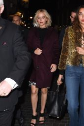 Jennifer Lawrence Arriving at the BAFTA Q&A For