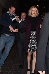 Jennifer Lawrence Arriving at the BAFTA Q&A For