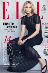 Jennifer Lawrence - ELLE Magazine Malaysia January 2016 Issue